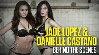 Jade Lopez and Danielle Castano - FHM Cover Girls February 2012