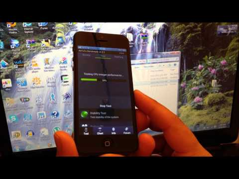 ZOPHONE I5 NANO SIM VERSION - HOW TO ROOT AND ANTUTU TEST!