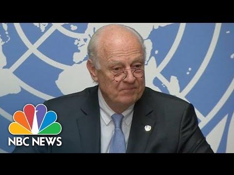 U.N. Envoy Urges Obama, Putin To Save Syria Ceasefire | NBC News