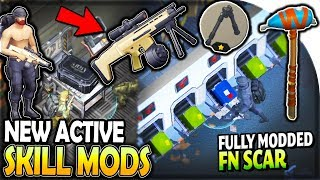 Opening ALL CRATES (NEW Active Skill Mods + FULLY MODDED FN SCAR) - Last Day on Earth Survival