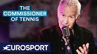 McEnroe: Why Roger Federer Is Mad at Me! | The Commissioner of Tennis | Australian Open 2019