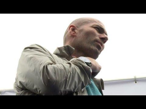 Zidane fera à Madrid ses premiers pas d'entraîneur