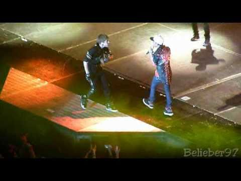 "Justin Bieber & Jaden Smith - ""Never Say Never"" @ O2 Arena, London, UK - 14/03/11 - My World Tour"