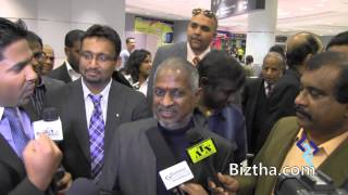 The Music Legend Ilayraja landed @ Pearson International Airport