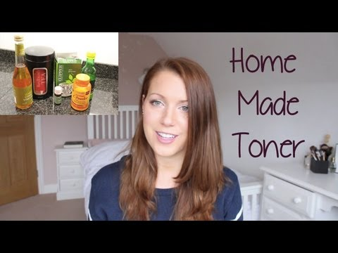 DIY Home Made Toner For Combination Acne Prone Oily Skin | Abi Girl