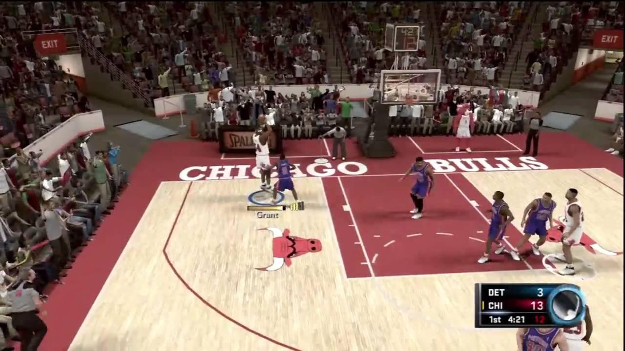 Nba 2k11 Jordan Challenge Bad Boys Youtube
