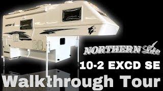 2019 Northern Lite 10-2 EXCD SE Truck Camper Walkthrough Tour