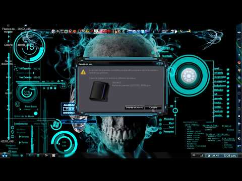Tema azul neón para windows 7 [Descarga Full]