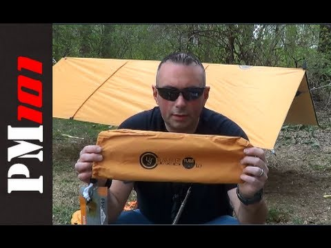 UST BASE Tube Tarp 1.0: Affordable and Versatile Tarp Shelter - Preparedmind101