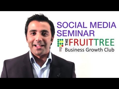 Social Media Seminar Doncaster - Fruit Tree Business Growth Club
