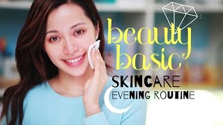Englisch - BEAUTY BASIC / Skin Care : Evening Routine