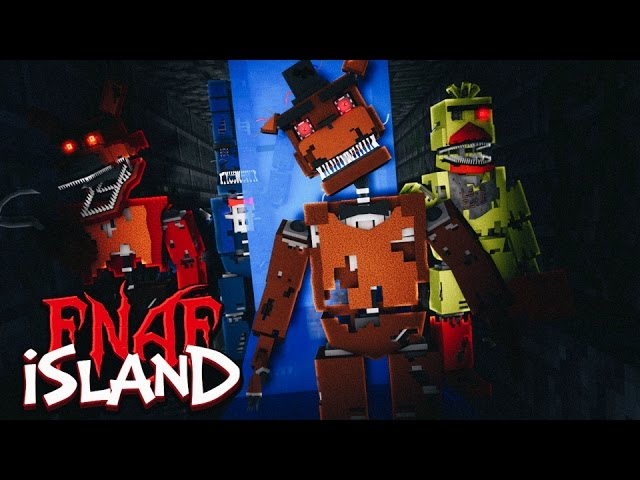 Minecraft - FNAF ISLAND #2 FREDDY FASBEAR'S SECRET! (Five nights at freddy's roleplay)