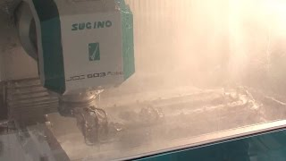 JCC503 Robo, a High-Efficiency Washer in the Form of CNC Controlled Robotic Arm