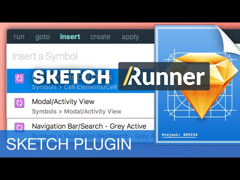 Sketch Runner: Faster Design Workflow • Sketch 3 Plugins Tutorial & Design Workflow