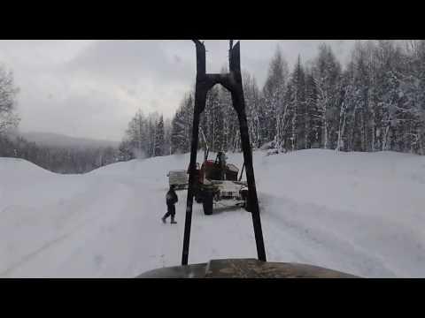 Урал лесовоз Опять приключения Не вышел в подъём на Волынке
