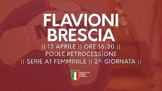 Serie A1F [2^ Poule Retrocessione]: Flavioni - Brescia 14-20