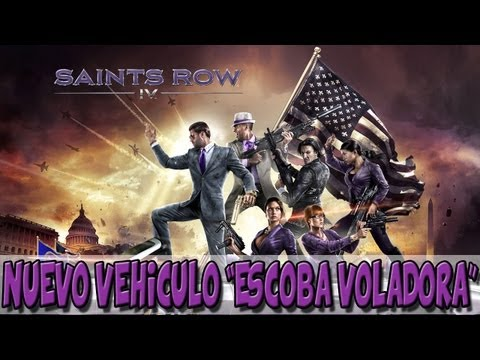 Saints Row IV (4) | Nuevo Vehiculo: Escoba voladora (Salem)