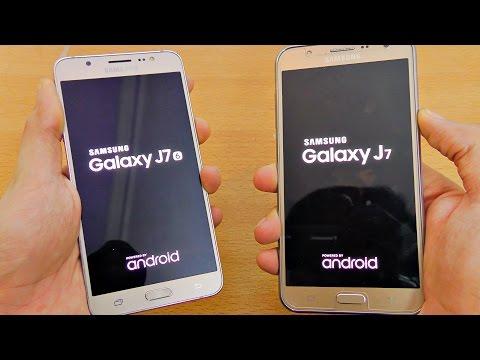 Samsung Galaxy J7 (2016) vs J7 (2015) - Speed Test! (4K)