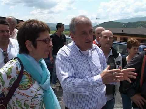 Gruppo Comunale Protezione Civile di Ciampino in visita a Fossa.mpg