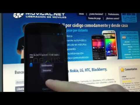 Liberar Samsung Galaxy Nexus - i9250 por imei para Vodafone