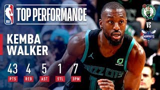 Kemba Walker Follows Up His 60 Point Performance with 43 POINTS  | November 19, 2018