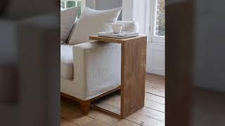 Beautiful and stylish sofa side table