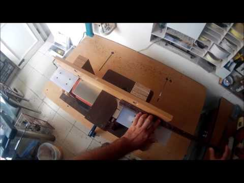 Homemade Mini Jointer using Handheld Power Planer