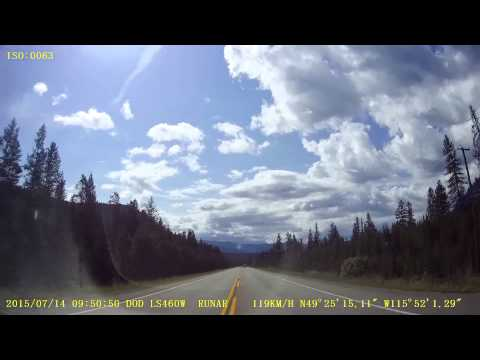 A drive from Calgary, AB to Richland, WA