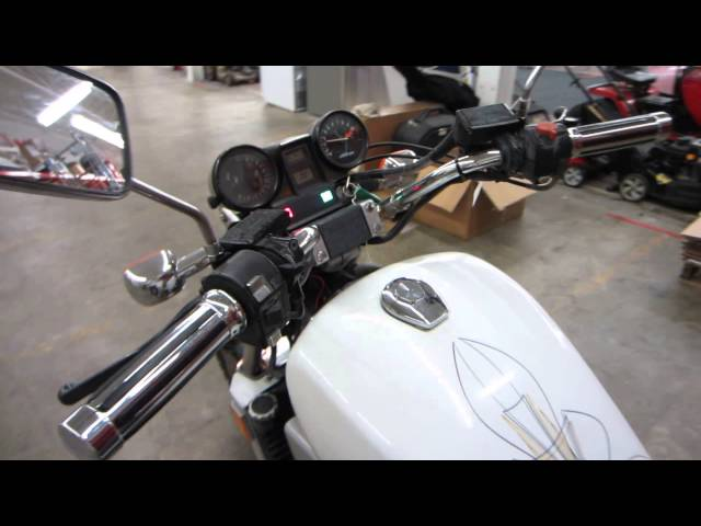1983 HONDA VF 1100 C Magna V65 White Sport Motorcycle - Start & Run