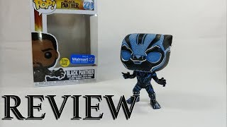 Black Panther Walmart Exclusive Glow in the Dark Funko pop | A Not So Awesome Review