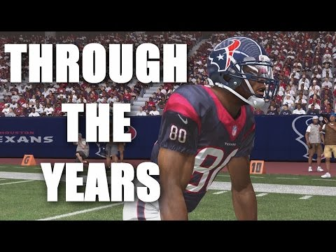Andre Johnson Through The Years - NCAA Football 2002 - Madden 16