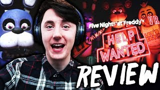 FNAF VR DEMO REVIEW (as much info as possible!)