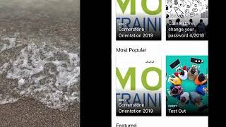 Cornerstone Learn - the MORC Training mobile app 2019