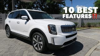 Here are the 10 BEST features of the 2020 Kia Telluride!