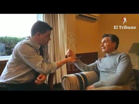 Entrevista exclusiva al presidente Mauricio Macri