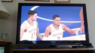 NBA 2K18 spin the wheel of player numbers gameplay!!!!!!!!!