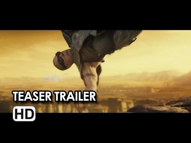Riddick Teaser Trailer (HD) Karl Urban, Vin Diesel