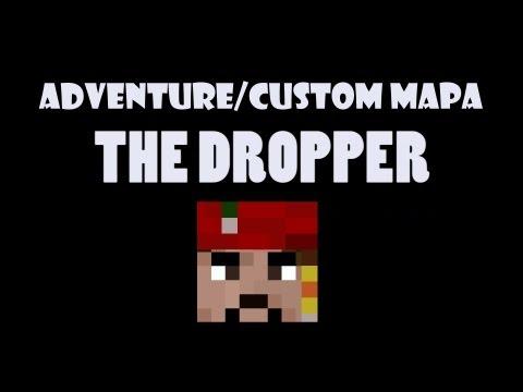 Český Let's Play Minecraft Adventure/Multiplayer mapa: Dropper