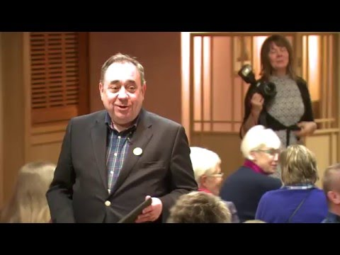 Alex Salmond's stand-up at Paul Wheelhouse's adoption meeting