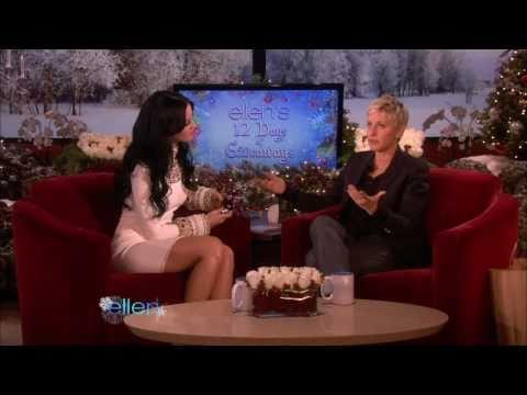 Katy Perry on Ellen