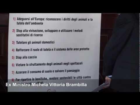 GLI ANIMALI SONO SOGGETTI PORTATORI DI DIRITTI – Michela Vittoria Brambilla