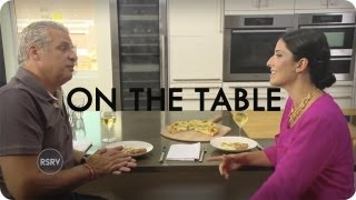 Laura Vitale Eats Pizza With Eric Ripert | On The Table | Reserve Channel