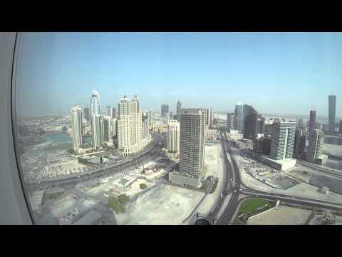 #ParavionLIVE. Priveliştea din apartamentele de la Hotel Taj Dubai, Dubai (1)