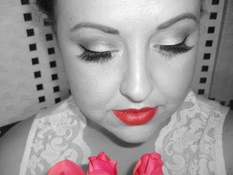 Maquillaje de Novia Pin-up (completo)
