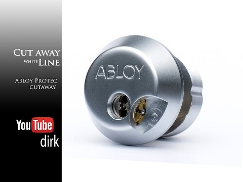 [059] Cutaway - Abloy Protec mortise cylinder
