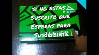 Unboxing de los taqutes pirma sox azteca/master futbol