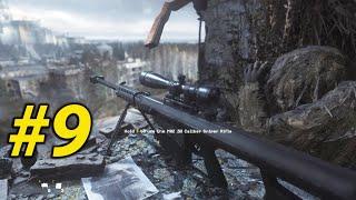 Dùng Súng Barrett M82 (3z) Bắn Hạ Tên Trùm Khủng Bố Ở Chernobyl - CALL OF DUTY 4 REMASTERED -Tập 9