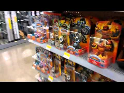 NEW SUPER WALMART  ... Largest Skylanders Giants Selection EVER in ONE PLACE!!!!