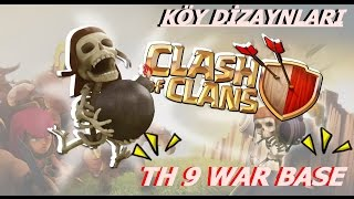 HEŞEY DAHİL TH9 WAR BASE KÖY DİZAYNI