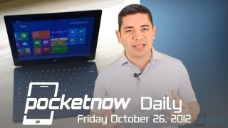 Microsoft Surface Hands-on, Nexus 10 Leaked Photos, iPad pre-orders & More - Pocketnow Daily